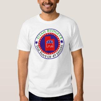 Utah Budgets - The Envy of 49 States T Shirts