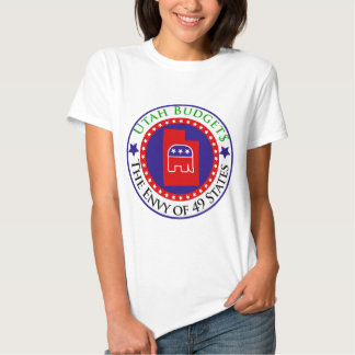 Utah Budgets - The Envy of 49 States Tshirt