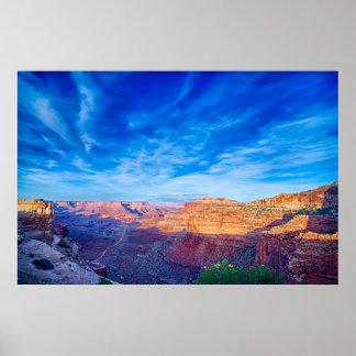 utah canyonlands poster
