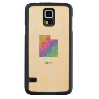 Utah Carved Maple Galaxy S5 Case