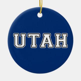 Utah Ceramic Ornament