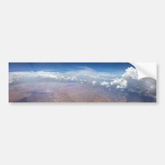 Utah Cloudscape from 36,000 Feet Bumper Sticker