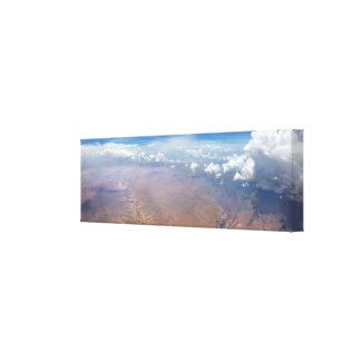 Utah Cloudscape from 36,000 Feet Canvas Print