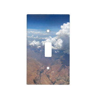Utah Cloudscape from 36,000 Feet Light Switch Cover