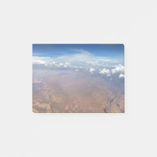 Utah Cloudscape from 36,000 Feet Post-it® Notes