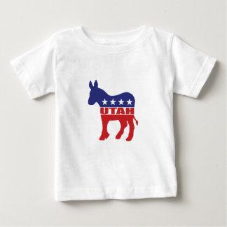 Utah Democrat Donkey Baby T-Shirt