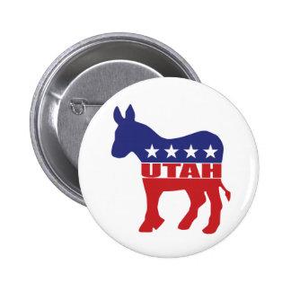 Utah Democrat Donkey Pin