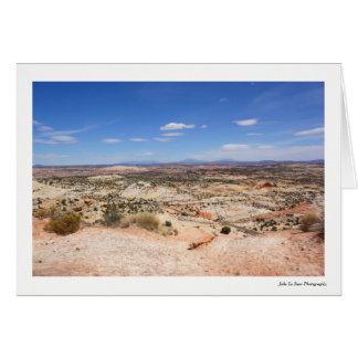 Utah Desert Greeting Card
