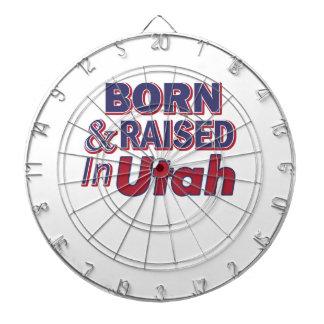 Utah design dartboard