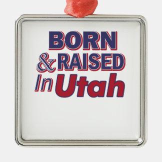 Utah design metal ornament