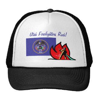 Utah Firefighters Hat Trucker Hat