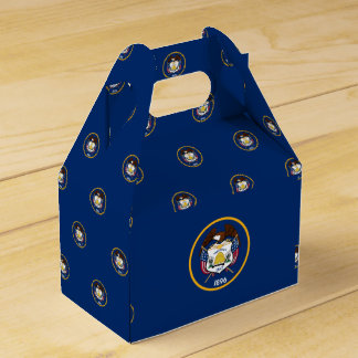 Utah Flag Favor Box