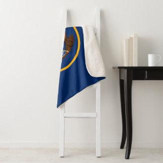 Utah Flag Sherpa Blanket