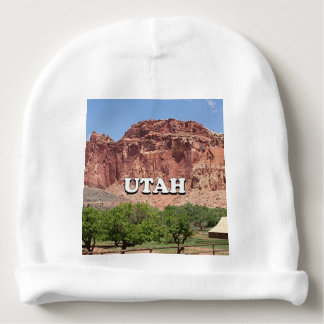 Utah: Fruita, Capitol Reef National Park, USA Baby Beanie