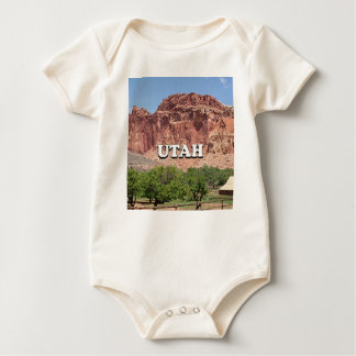 Utah: Fruita, Capitol Reef National Park, USA Baby Bodysuit