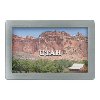 Utah: Fruita, Capitol Reef National Park, USA Belt Buckles