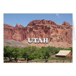 Utah: Fruita, Capitol Reef National Park, USA Card