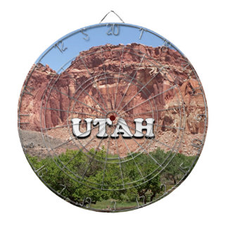 Utah: Fruita, Capitol Reef National Park, USA Dartboard