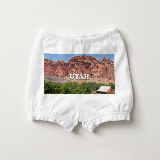 Utah: Fruita, Capitol Reef National Park, USA Diaper Cover