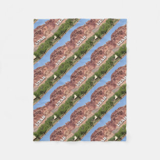 Utah: Fruita, Capitol Reef National Park, USA Fleece Blanket