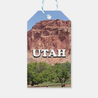 Utah: Fruita, Capitol Reef National Park, USA Gift Tags
