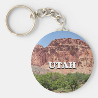 Utah: Fruita, Capitol Reef National Park, USA Keychain