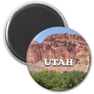 Utah: Fruita, Capitol Reef National Park, USA Magnet