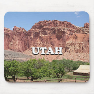 Utah: Fruita, Capitol Reef National Park, USA Mouse Pad