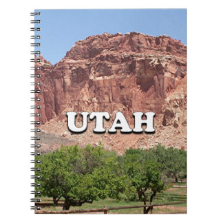Utah: Fruita, Capitol Reef National Park, USA Notebooks