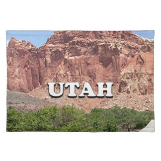 Utah: Fruita, Capitol Reef National Park, USA Placemat