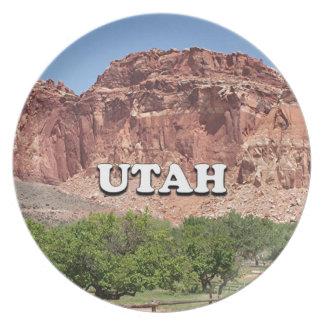 Utah: Fruita, Capitol Reef National Park, USA Plates