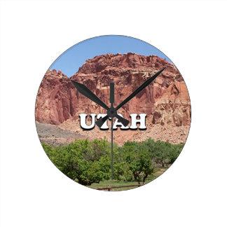 Utah: Fruita, Capitol Reef National Park, USA Round Clock