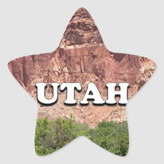 Utah: Fruita, Capitol Reef National Park, USA Star Sticker