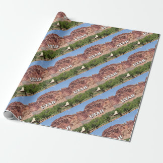 Utah: Fruita, Capitol Reef National Park, USA Wrapping Paper
