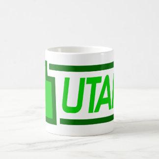 Utah (Green) Coffee Mug