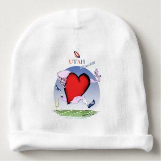 utah head heart, tony fernandes baby beanie