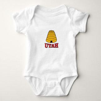 utah hive baby bodysuit