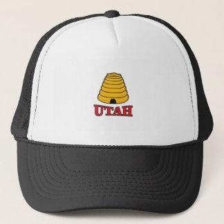 utah hive trucker hat