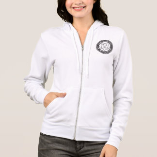 Utah Institute Women's Zip Hoodie WHT