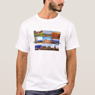 Utah Landscape Icons T-Shirt