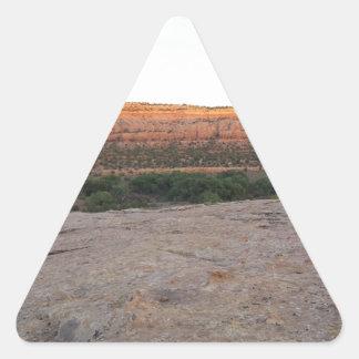 Utah Landscape Triangle Sticker