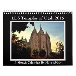 Utah LDS Temples 2015 15 Month Calendar