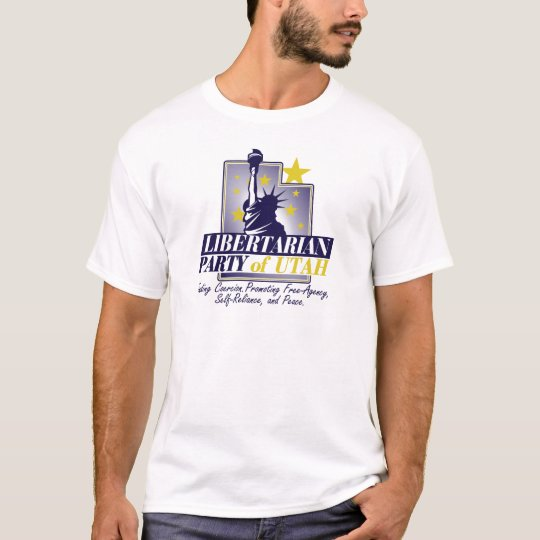Utah Libertarian Party Logo T-Shirt