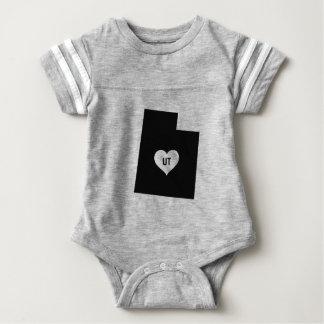 Utah Love Baby Bodysuit