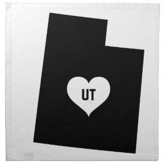 Utah Love Napkin