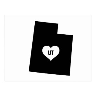 Utah Love Postcard