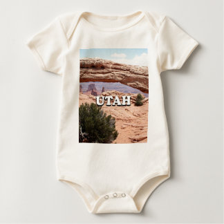 Utah: Mesa Arch, Canyonlands National Park, USA Baby Bodysuit