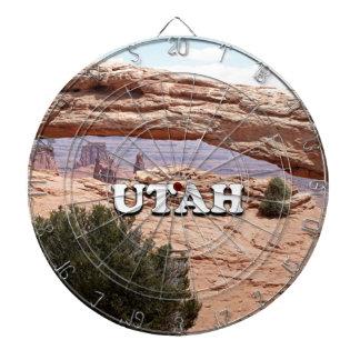 Utah: Mesa Arch, Canyonlands National Park, USA Dartboard
