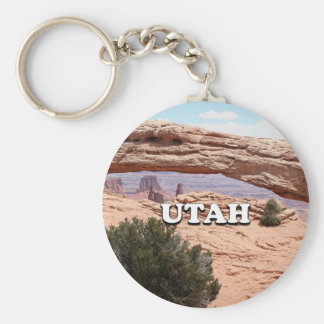 Utah: Mesa Arch, Canyonlands National Park, USA Keychain