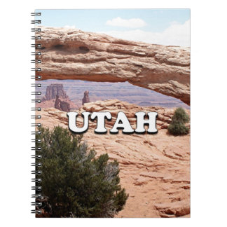 Utah: Mesa Arch, Canyonlands National Park, USA Notebook
